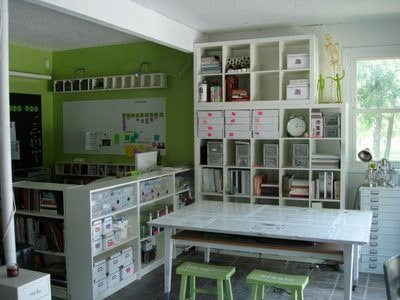 organized playroom