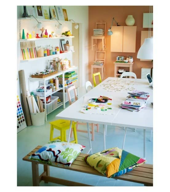crafty playroom