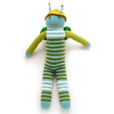 knit grasshopper doll bla bla