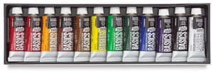 basic student acrylic paint set