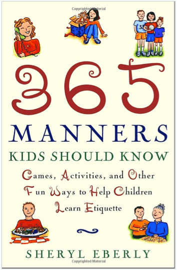manners book for kids