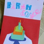Birthday Card as Art Project