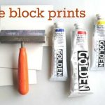Glue Block Prints