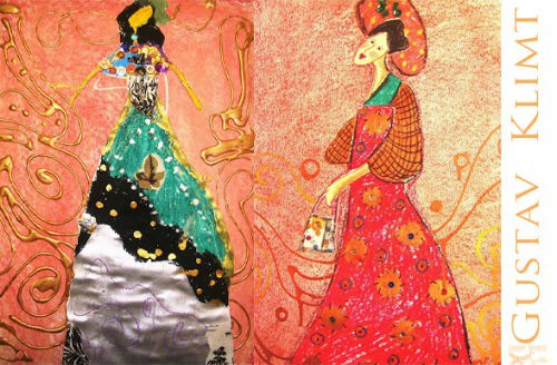 celebrate gustav klimt s 150th with some fun art projects craftwhack