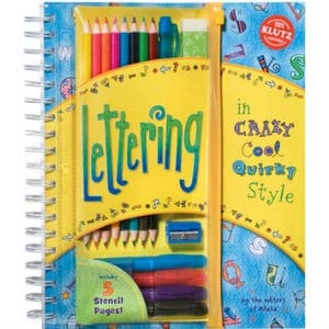 lettering book for kids