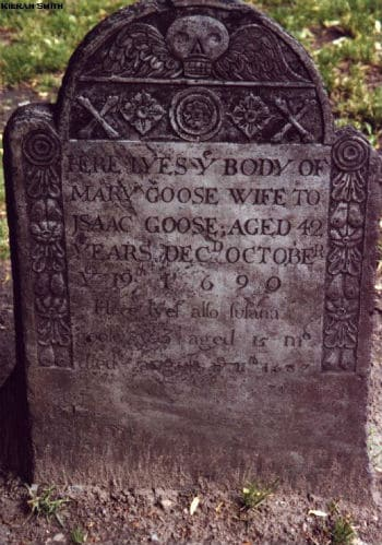 mother goose grave