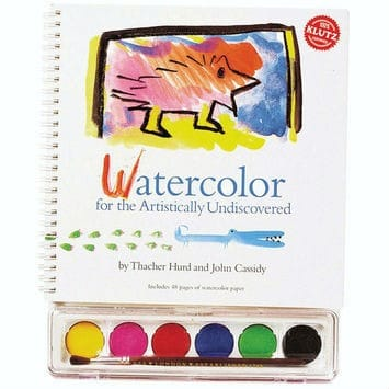 watercolor book for kids