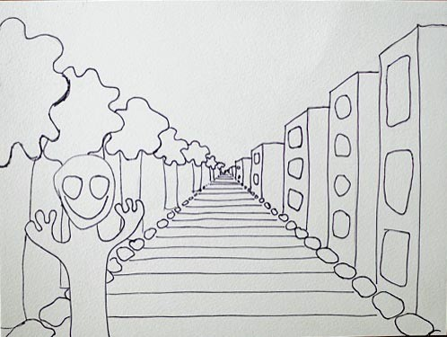 perspective drawing project | Artchoo.com
