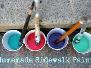 DIY sidewalk paints | Artchoo.com