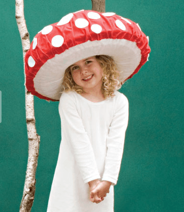 Little toadstool costume from Family Fun