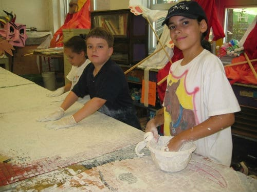 children's mosaics project