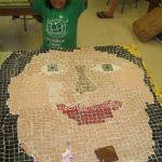 Mosaic Art With Kids
