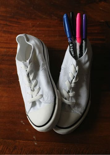 converse and sharpies