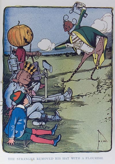 The Marvelous Land of Oz - illustrated by John R. Neill
