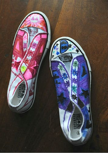 94cc3bba5b0a Converse sharpie art - photo 11