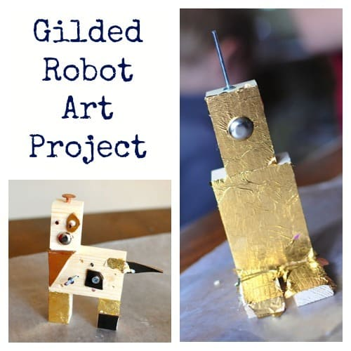 Robot Art Project from Artchoo.com