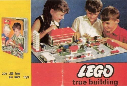 legos from the 60s