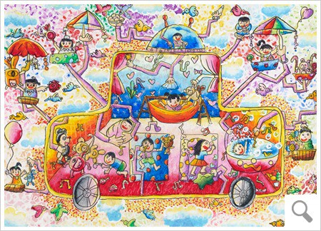 Toyota art car contest for kids