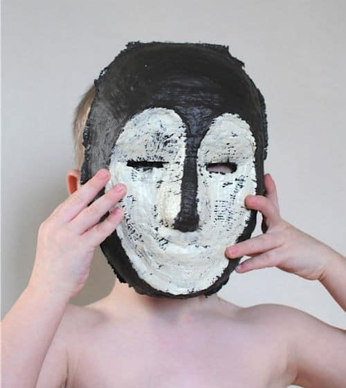 Plaster_African_Mask_Project