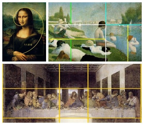 Golden ratio for kids for Golden rule painting