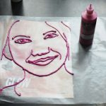 Puffy Paint Portrait Project