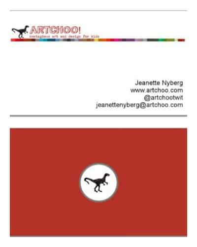 business cards from Artchoo