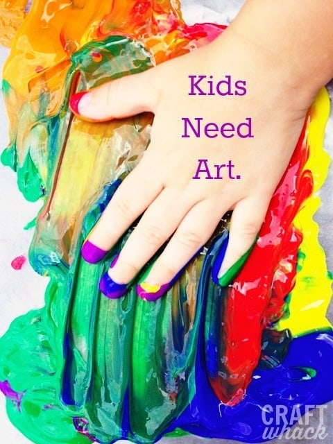 importance of art for kids