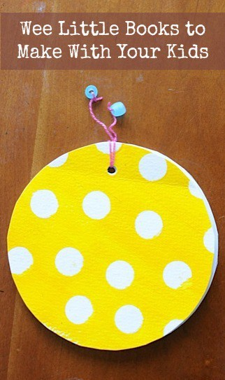 Mini Circle Book Project to Make with Your Kids