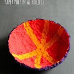 Paper Pulp Bowl Project