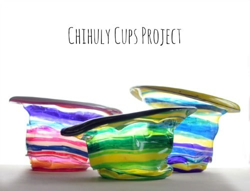 Chihuly Cups Project • Artchoo.com