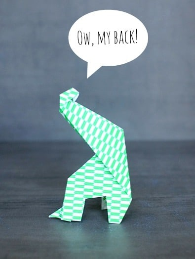 Origami For Kids Make An Easy Origami Giraffe Craftwhack