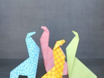 Origami For Kids: Make an Easy Origami Giraffe • Artchoo.com