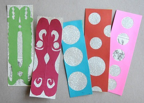 Homemade bookmarks craftwhack for Bookmark craft for kids