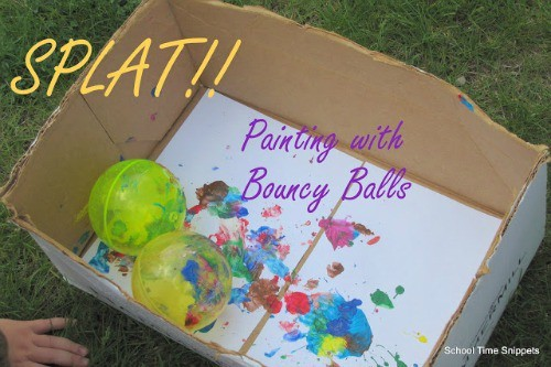 painting with balls