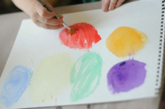 One: A Book and an Art Project For Preschoolers