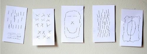 Staple Drawings • Artchoo.com