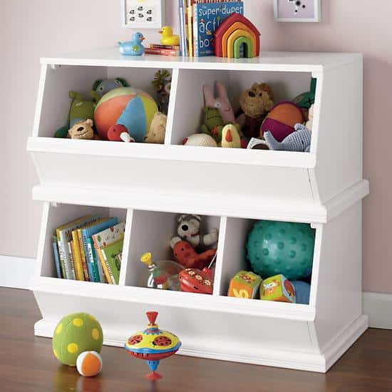 Well this has me drooling with all of the amazing storage space. Itu0027s the Cameron Creativity Storage System With Art Cubbies from Pottery Barn Kids. & Storage Furniture for Kids u2022 Craftwhack