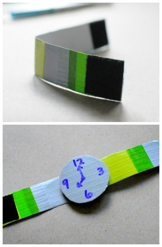 making duct tape watches • Artchoo.com