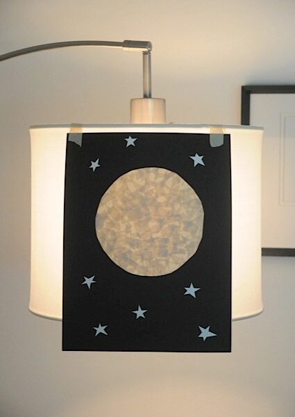 Easy Moon Art Project for Kids • Artchoo.com