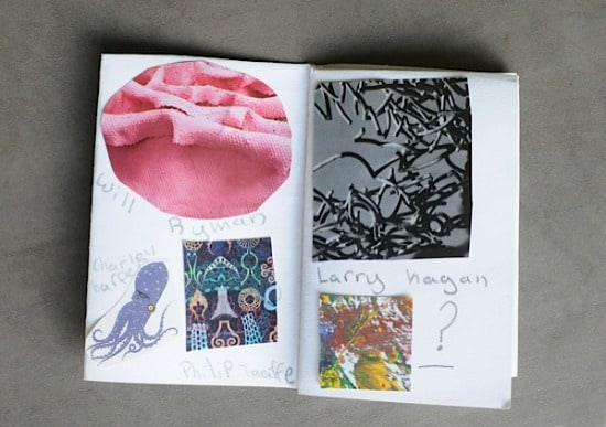SHow your kids how to make a mini art gallery book • Artchoo.com
