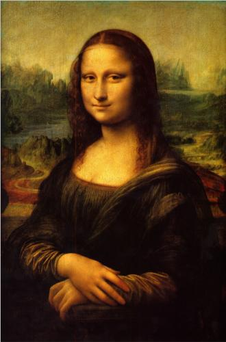 "Mona Lisa- one of the paintings viewed by a group of art specialists at the Louvre for the documentary ""Hidden Lives of Masterpieces"""