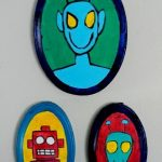 Art Projects For Kids: Alien and Robot Portraits