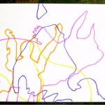 Drawing With Kids: Abstract Shadow Drawings