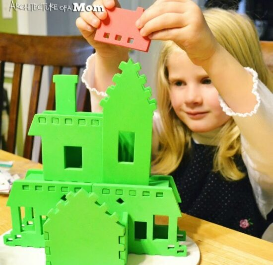 teach your kids basic architectural concepts • Artchoo.com