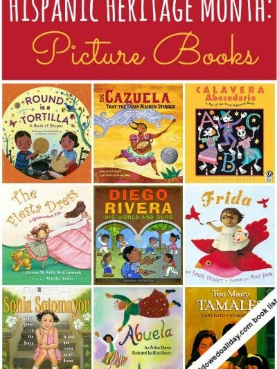Creative Books for kids for Hispanic Heritage month