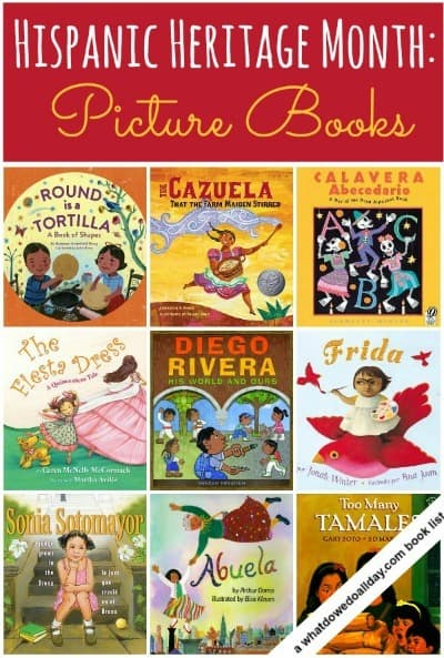 Hispanic heritage month picture books craftwhack for Children s craft books