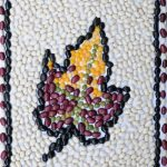 Bean Mosaic: Fall Leaf Project