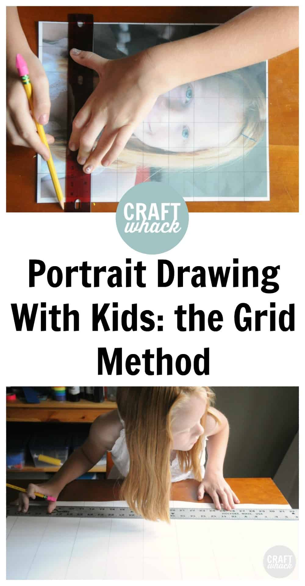 grid method draw faces