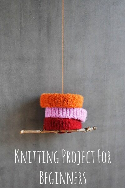 Knitting For Beginners: A Perfect First Project