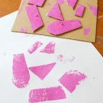 5 Easy Art Projects: Cardboard Prints